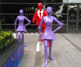 时尚人物雕塑