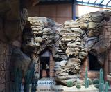 丹霞地貌式塑石小品