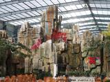 生态大棚塑石假山