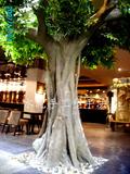包柱式仿真树