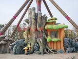 游乐场水泥雕塑