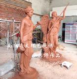 欧式人物雕塑泥稿
