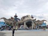 主题公园特色水泥塑石雕塑
