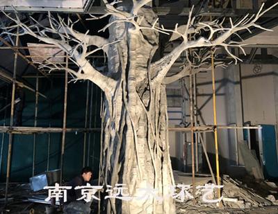 包柱仿真树制作工序